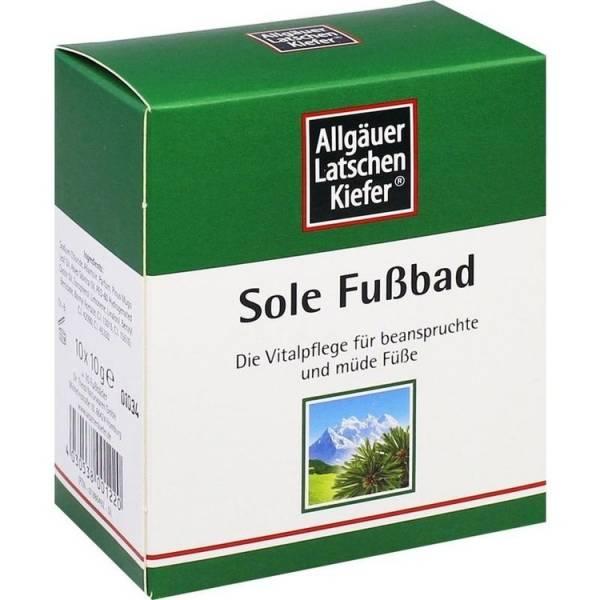ALLGAEUER SOLE FUSSBAD