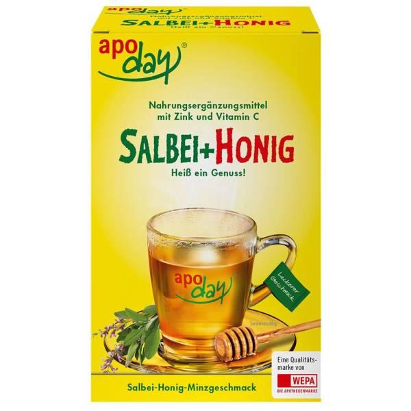 apoday Salbei+ Honig mit Vitamin C + Zink